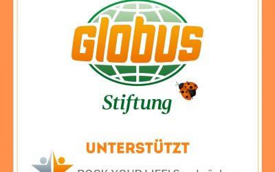 Unterstützung der Globus-Stiftung