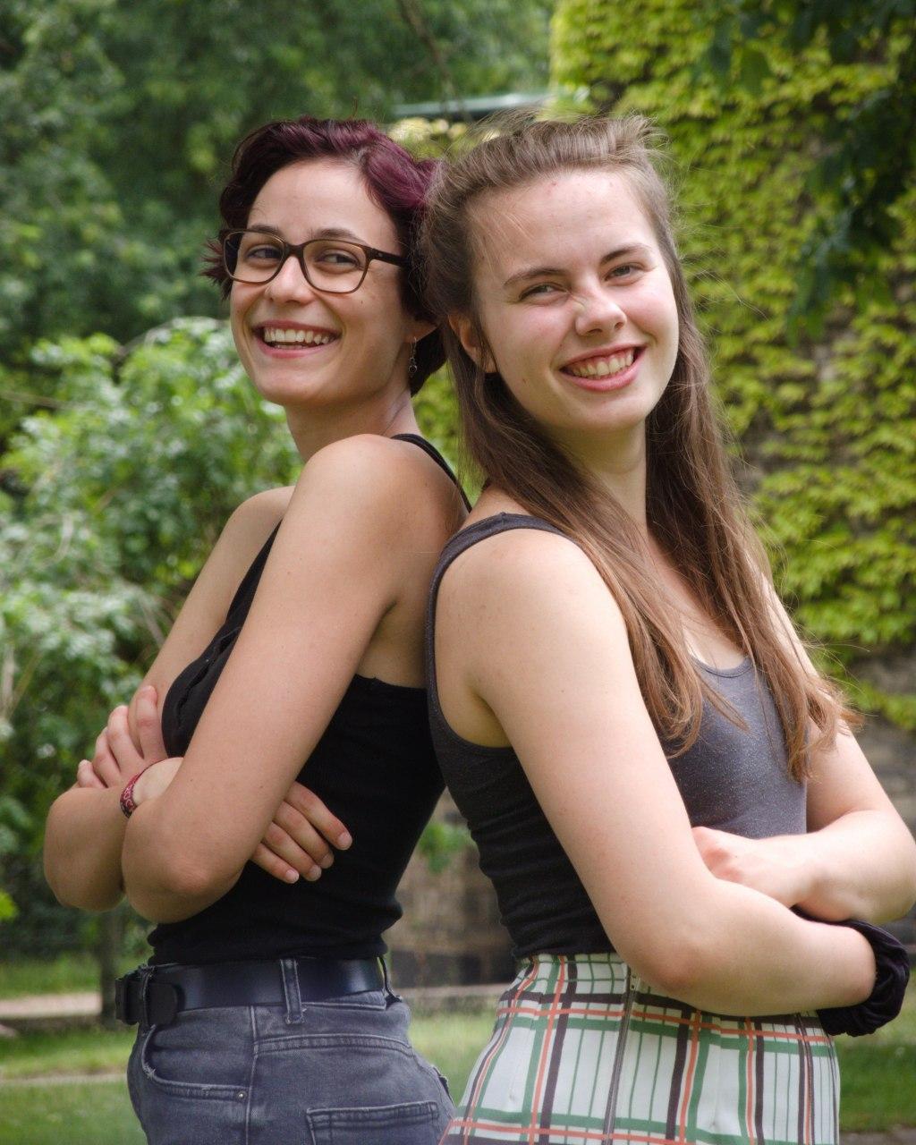 Lea und Sina, Vorsitzende von RYL SB